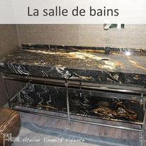 La pierre dans la salle de bains - Yannick Valente - Tout en pierre (Var 83)