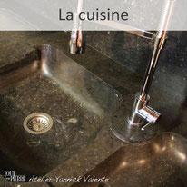 La pierre dans la cuisine - Yannick Valente - Tout en pierre (Var 83)
