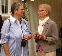 Franssien et Madeleine (décédée en 2014), nos laïques associées réunies pour la fête des jubilaires en 2013