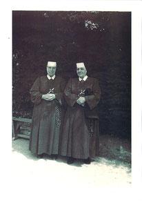 Sr St Claude et sa soeur
