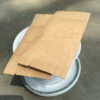 お茶1袋が一人分で2元=¥40