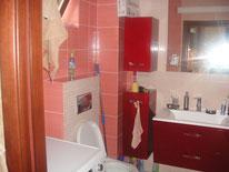 Дизайнерский ремонт ванной комнаты в коттедже
