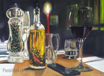 Thea Herzig, Stillleben, stilllife, kunst, moderne malerei