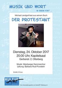 "Michael Landgraf liest "" Der Protestant"""