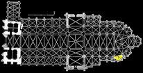 Planzeichnung von Chauliat und J. Valery-Radot