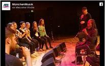 ©MünchenMusik / Facebook. Bobby McFerrin - Circle Songs @Philharmonie Gasteig München