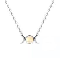 Collanina simbolo della Dea - Triplice Dea