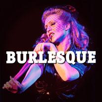 Mike Roth: Werbung für Burlesque-Veranstaltungen