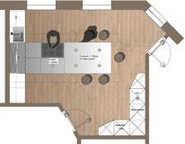 Innenarchitektur Küchenplanung