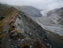 Fluhalp, Zermatt, Matterhorn, Stellisee, Wallis, Schweiz, Alpen, Swiss Alps, Switzerland, Findelgletscher, Gletscher, Moräne
