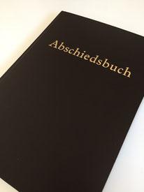 Kondolenzbuch aus der Papierwerkstatt Hamburg