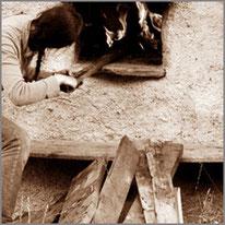 Brot, backen, früher, damals, Brunnenkogelhaus