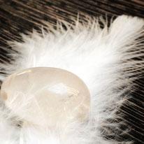 Yoni Egg Innere Klarheit aus Bergkristall