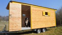 Bauwagen für Kindergarten - Waldkindergartenwagen