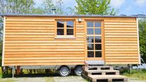 Tiny houses, Minihaus auf Rädern, fahrbares Haus