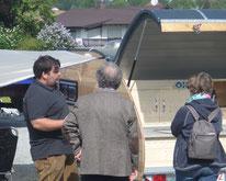 Mini Caravan vom Wohnwagen-Bau