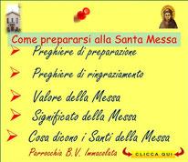 Prepararsi alla Santa Messa