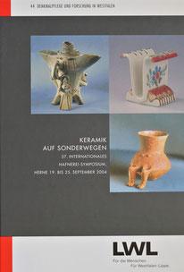Keramik auf Sonderwegen 37. Hafnerei Symposium Herne