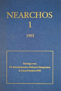 Nearchos 1 1993 25. Hafnerei Symposium Lienz 1992