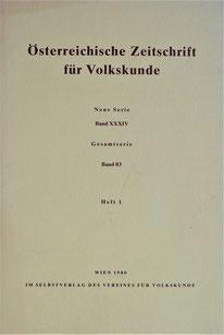 Österreichische Zeitschrift für Volkskunde 12. Hafnerei Symposium