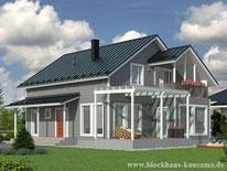 Blockhaus als Wohnhaus - Blockhausbau - Hausbau - Holzbau - Massivholzhaus - Rheinland Pfalz
