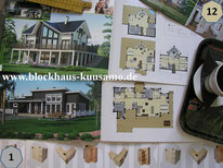 Blockhäuser - Entwürfe