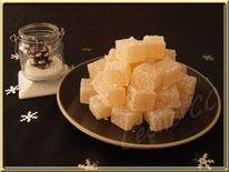 recette des pâtes de fruit à la poire, noel, boutique en ligne, cecile cc, chic choc cake