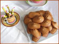 recette des madeleines aux carambars