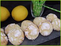 Recette des crinkles au citron, pâtisserie