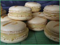 recette macaron, macaron ananas, ananas, curd ananas, dessert, pâtisserie, boutique en ligne, boutique cake design et pâtisserie