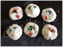 cupcake, halloween, momie, pâte à sucre, cake design, tutoriel