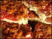 Recette des biscuits moelleux amandes et cerises confites
