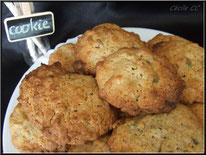cookie, pistache, chocolat blanc, biscuit