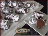 recette des muscadine pour noel, chocolats de noel recette