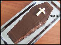 Tutoriel pour un gâteau 3D en forme de cercueil pour Halloween