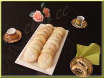 recette des biscuits galette fourrés au chocolat