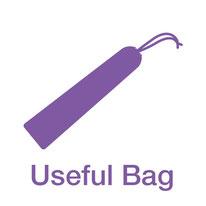 <便利な傘袋付き>