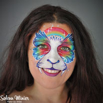 solenn minier maquilleuse professionnelle face painting maquillage chat catrennes bretagne