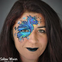 solenn minier maquilleuse professionnelle face painting maquillage dragon rennes bretagne