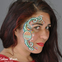 solenn minier maquilleuse professionnelle face painting maquillage œuf egg paques easter  rennes bretagne