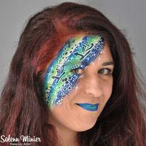 solenn minier maquilleuse professionnelle face painting maquillage graffiti rennes bretagne
