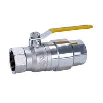 Gas-Kugelhahn mit TAS DN40