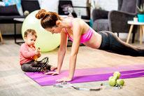 Postnatales Fitnesstraining