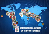 World Friend Philatelist Map