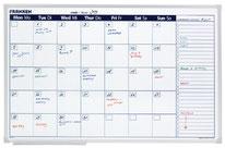 Planificador mensual magnético - AorganiZarte