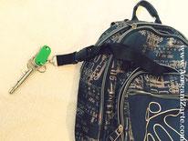 como organizar las llaves y USBs en la mochila - AorganiZarte.com