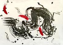"""""""Nage sous l'arche""""/70x50/Mai20"""