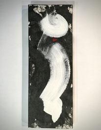 """Chapeau Blanc""/19x52/Mai.20"