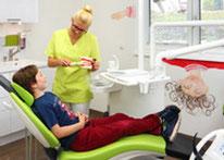 Kinderbehandlung Zahnarzt