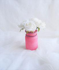 Glasvase satiniert rosa 8,90 €